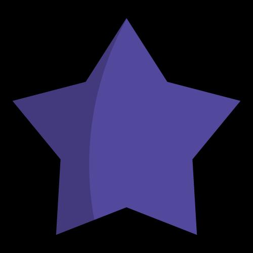 staff wellbeing wellgiving purple star icon